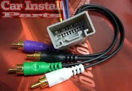 toyota premium stereo radio w amp wire harness 2000 2011 store categories