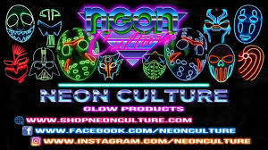 Sound Reactive <b>LED Rave Mask</b> – Neon Culture