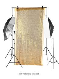 Buy <b>Background Cloth</b> 1.3*2m/4.2 * 6.5ft Shimmer Sequin ...