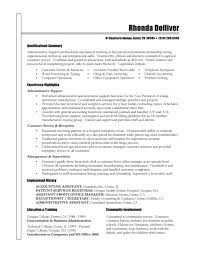 resume skills qualifications writing sample resume
