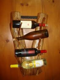 Rustic Cedar <b>Wine Rack</b> in <b>2019</b> | <b>Wine rack</b>, Wine bottle holders ...