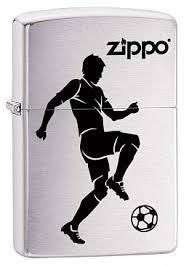 Купить <b>Зажигалка ZIPPO Soccer</b> Player 29201 Футболист ...