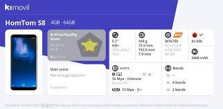 <b>HomTom S8</b>: Цена, характеристики и где купить
