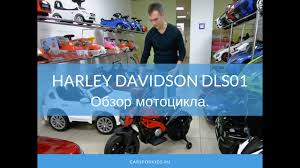 <b>Детский электромобиль</b> мотоцикл <b>Harley</b> Davidson DLS01. Обзор ...