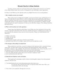 college student resume sample getessay biz resume tips for college students templates resume template builder in college student resume