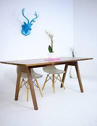 mink extension modern trestle modern trestle tables for your interior