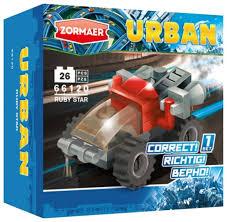 <b>Конструктор Zormaer</b> Urban 66120 Рубиновая звезда — купить по ...