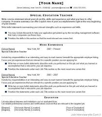 special education teacher resume   special education teacher    special education teacher resume   special education teacher resume we provide as reference to make correct and good quality resume  also will give…