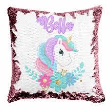 <b>Personalized</b> Reversible Sequin Pillows | Mermaid - GLAM - <b>Girls</b> ...