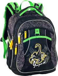 Рюкзак школьный Erich Krause, Scorpion серый/черный   Буквоед ...