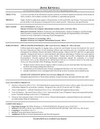 example applications engineer resume samplesample resume