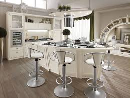 outstanding kitchen with white kitchen arched table top wine cellar furniture