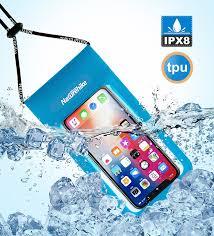 <b>Naturehike</b> TPU <b>Waterproof</b> Phone Bag Lightweight Touch Screen ...