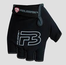 <b>Велоперчатки Polednik F</b>-<b>3 р</b>. 9 M черные, эластичный верх ...