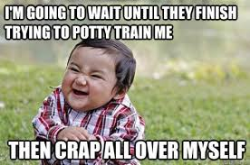 12 Hilarious Truths About Potty Training | The Stir via Relatably.com