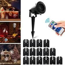 <b>Christmas Halloween</b> Outdoor <b>LED Laser</b> Light <b>Projector</b> 15 Slides ...