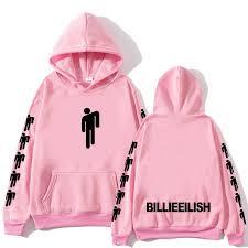 Nieuwe <b>Hot Billie Eilish</b> Hoodie Mannen Zwarte Katoenen Hoodie ...