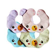Allwin Pure Cotton <b>Baby</b> Bib <b>Fashion Print</b> 360 Degree <b>Waterproof</b> ...