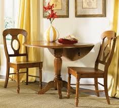 three piece dining set:  pieces dining sets in napoleon design with two wooden dining chairs and rounded dining