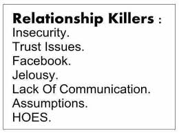 Relationship Biggest Killers - Cute Relationship Quotes and ... via Relatably.com