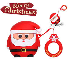 <b>Case for</b> Airpods, Santa Claus <b>Headphone Case</b>, Cute <b>Cover for</b> ...