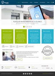 clean joomla template joomla monster financial joomla template example for financial services