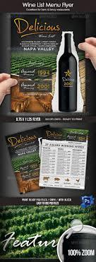 best images about print restaurant psd flyer wine list menu flyer template design speisekarte