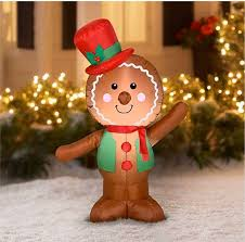 <b>Gingerbread Man Inflatable</b> (With images) | <b>Inflatable</b> christmas ...