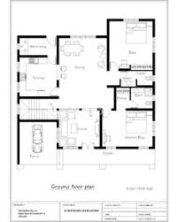 House Layouts on Pinterest   Shed House Plans  Contemporary House     Bedroom sq ft floor plan of New trendy House
