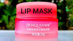<b>Bioaqua</b> natural sleeping lipmask review | <b>Moisturising</b> jelly ...