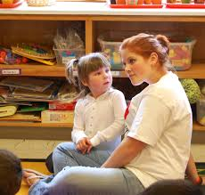 do it learn it live it  every high school student is assigned a preschool buddy and works them one on one buddies rotate throughout the semester on subjects like counting