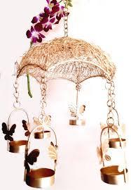 <b>Beautiful</b> Home <b>Decor</b> Umbrella <b>Butterfly</b> Candle Light Holder - MD ...