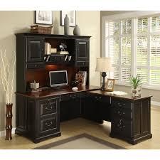 l office desk riverside bridgeport l shaped computer desk with optional hutch desks at hayneedle bedford shaped office desk