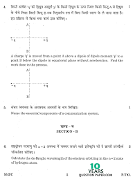CBSE        Physics  Theory  Class    Board Question Paper SET
