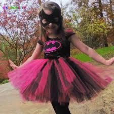 2019 <b>Ksummeree</b> Hot Pink Batman Girls <b>Tutu Dress</b> With Mask ...