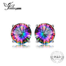 2019 <b>Jewelrypalace Classic 2ct Natural</b> Mystic Rainbow Topaz ...