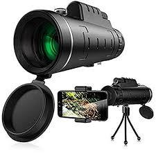 Monocular Telescope, <b>40x60 Zoom</b> Telescope, Portable <b>Dual</b> Focus ...