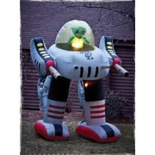 Cheap <b>Alien</b> Robot <b>Inflatable Halloween</b> Decoration - Best Toy Robot