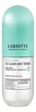Тонер для проблемной кожи лица Code-Derm AC Clear Mist ...
