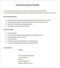 sample sas programmer resume free download cnc programmer resume