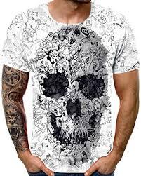 JURTEE <b>Men's</b> New <b>Summer T</b>-<b>Shirt</b> with Round Neck <b>Loose</b> Short ...
