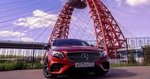 Красная стрела: тест Mercedes-AMG E 43   Журнал Популярная ...