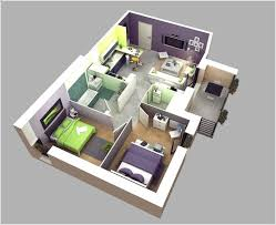 Amazing Interior Design Awesome Two Bedroom Apartment D Floor