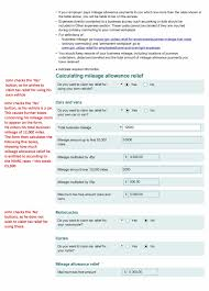 form p claim for tax relief for expenses of employment low p87 page 3