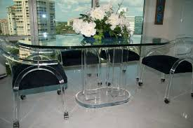 lucite acrylic furniture d002 oval dining table acrylic furniture toronto