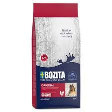 <b>Сухие корма</b> для собак <b>BOZITA</b>