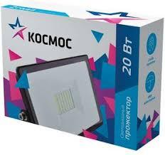 <b>Прожектор 20Вт 1600лм</b> 6500К IP65 <b>Космос</b> K_PR5_LED_20 ...