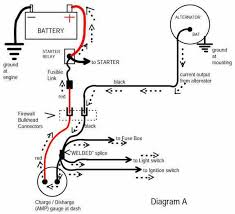 ford 3 wire alternator wiring diagram ford image one wire alternator wiring diagram chevy one auto wiring diagram on ford 3 wire alternator wiring