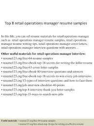 top8retailoperationsmanagerresumesamples 150426035746 conversion gate01 thumbnail 4 jpg cb 1430038708