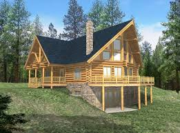 Log Cabin Designs   endmassincarceration orgLog Cabin House Plans   Basement